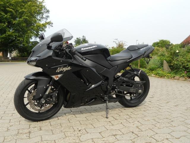 Kawasaki Ninja 250R Schwarz Motorrad Bild Idee